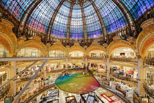 Funorama: Galeries Lafayettes is Transformed into a Giant Playground
