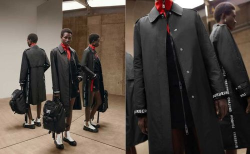 Burberry lance une collection en nylon durable