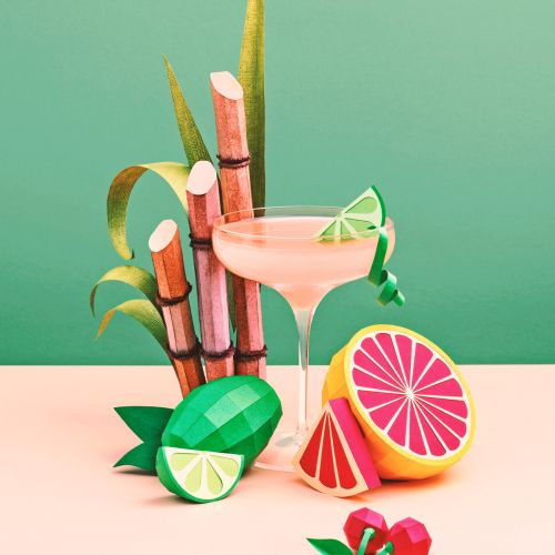Refreshing Cocktails Made Out of Paper