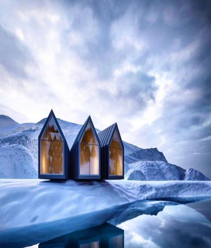 Design Houses in the Middle of Nature by Alexander Nerovnya