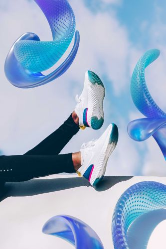 Amazing Mixed Art for the Nike Epic React