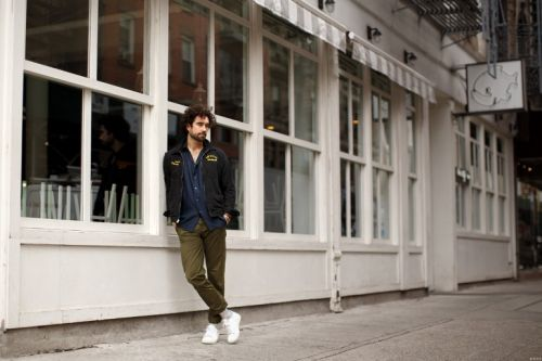 A Street Style with Gabe Kennedy