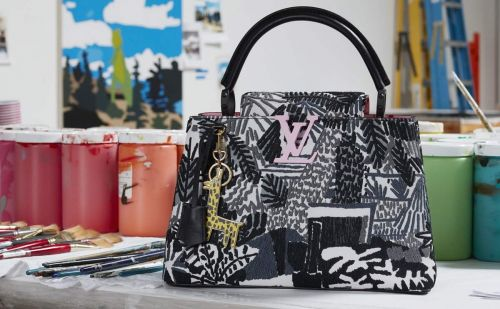 Louis Vuitton:  une nouvelle collaboration avec l'artiste Jonas Wood