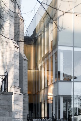 New Design and Old Patrimoine at the Québec City House of Literature