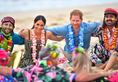 Meghan Markle:  les photos surprenantes de sa sortie de surf avec le prince Harry !