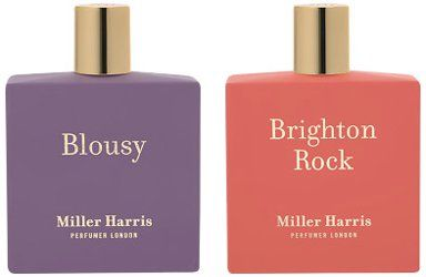 Miller Harris Blousy & Brighton Rock ~ new fragrances
