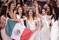Miss Mexique sacrée Miss Monde 2018