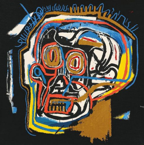 Bombhoff: Jean-Michel Basquiat, Untitled