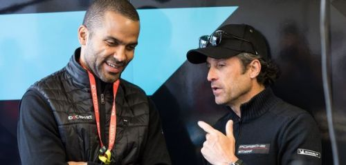 PHOTOS. Patrick Dempsey, Tony Parker.. Les people au 24h du Mans