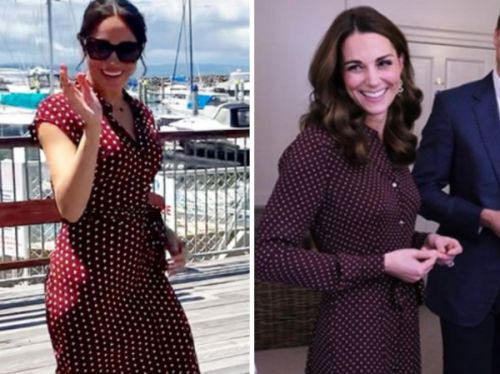 PHOTOS. Quand Meghan Markle copie le look de sa belle-soeur Kate Middleton