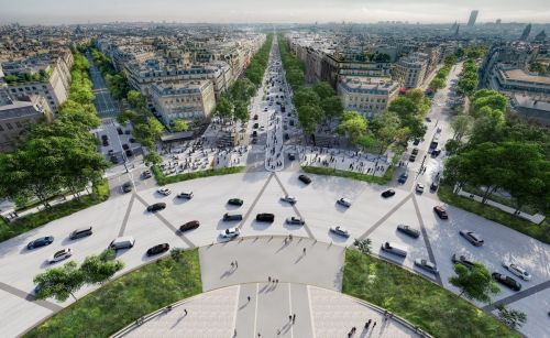 New Project to Restore the Beauty of the Champs-Elysées