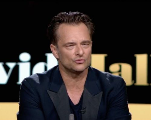 David Hallyday refuse de répondre à une question de Laurent Delahousse !