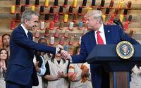 Donald Trump inaugure un atelier Louis Vuitton au Texas