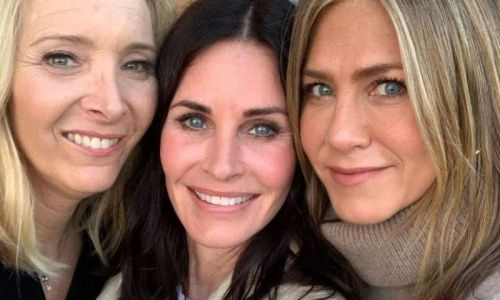 Friends:  Courteney Cox, Jennifer Aniston et Lisa Kudrow à nouveau réunies !